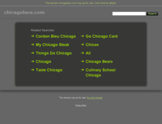 chicagolace.com screenshot