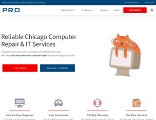 chicagolaptoprepair.com screenshot