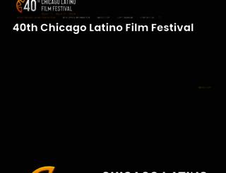 chicagolatinofilmfestival.org screenshot