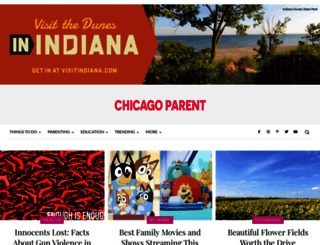 chicagoparent.com screenshot