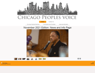 chicagopeoplesvoice.com screenshot