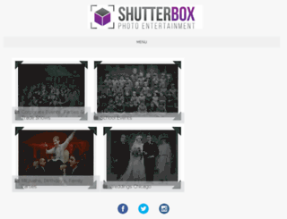 chicagophotos.shutterboxphotobooth.com screenshot