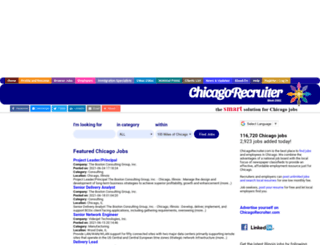chicagorecruiter.com screenshot