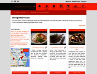 chicagosbeststeak.com screenshot