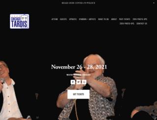 chicagotardis.com screenshot