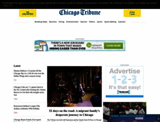 chicagotribune.com screenshot