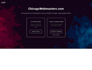 chicagowebmasters.com screenshot