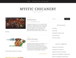 chicanery.fibergeek.com screenshot