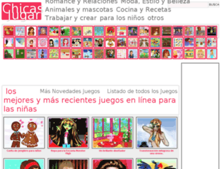 chicasajugar.com screenshot