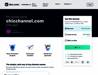 chicchannel.com screenshot