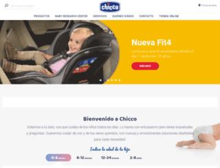 chicco.com.ar screenshot