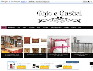 chicecasual.blogspot.com.br screenshot