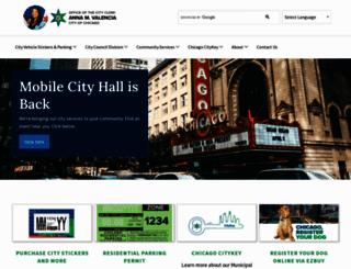 chicityclerk.com screenshot