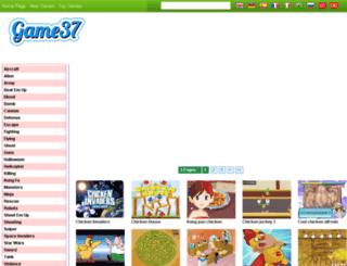 chicken-invaders-5-games.game37.net screenshot
