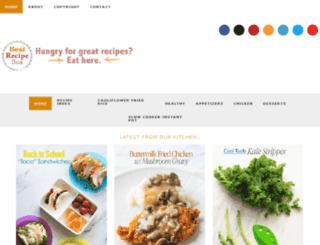 chickenrecipebox.com screenshot