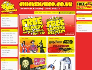 chickenshop.co.uk screenshot
