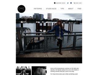 chicknits.com screenshot