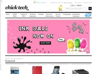 chicktech.co.nz screenshot