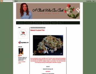 chickwhocooks.blogspot.co.uk screenshot