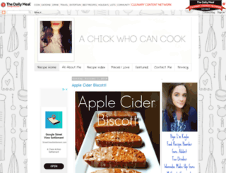 chickwhocooks.blogspot.com screenshot