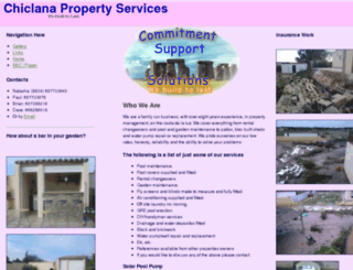 chiclanapropertyservices.com screenshot