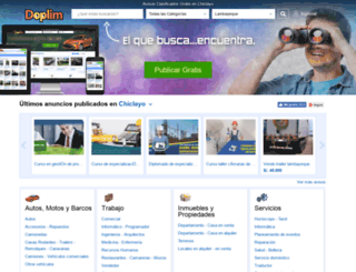 chiclayo.doplim.com.pe screenshot