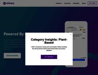 chicoryapp.com screenshot