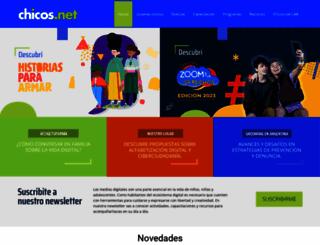 chicos.net screenshot