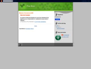 chicosdeplay.blogspot.com screenshot
