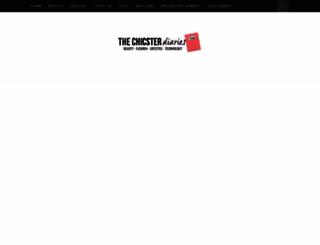 chicpeachypink.blogspot.in screenshot