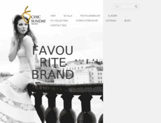 chicsunday.com screenshot