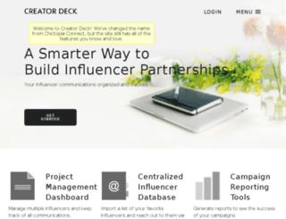 chictopiaconnect.com screenshot