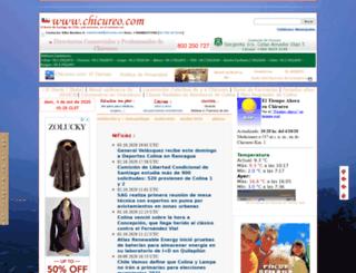 chicureo.com screenshot