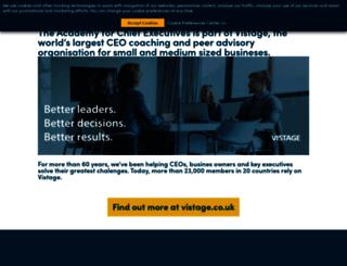 chiefexecutive.com screenshot
