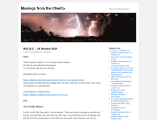 chiefio.wordpress.com screenshot