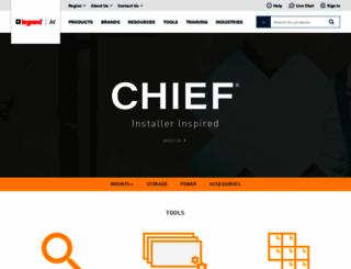 chiefmfg.com screenshot