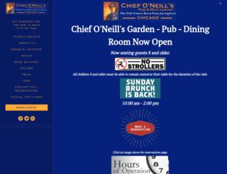 chiefoneillspub.com screenshot