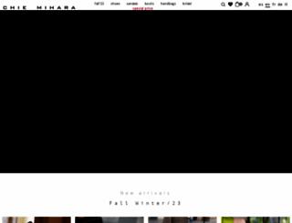 chiemihara.com screenshot