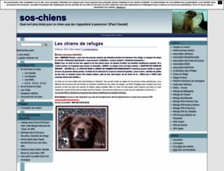 chiensos.unblog.fr screenshot