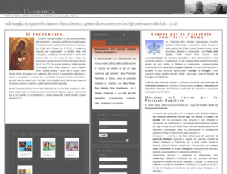 chiesadomestica.org screenshot