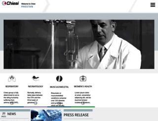 chiesipakistan.com screenshot