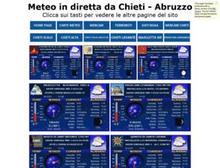 chietimeteo.altervista.org screenshot