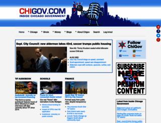 chigov.com screenshot