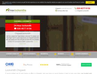 chigwell-locksmiths.co.uk screenshot