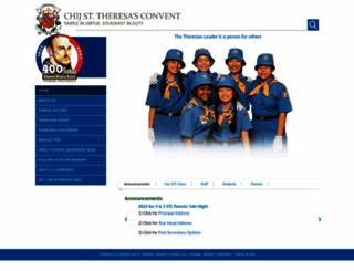 chijsttheresasconvent.moe.edu.sg screenshot