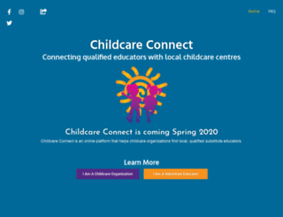 childcareconnect.ca screenshot