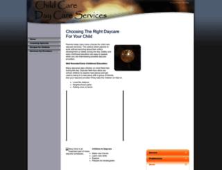 childcaredaycareservices.com screenshot