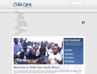 childcaresa.org.za screenshot