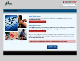 childconsent.hpb.gov.sg screenshot
