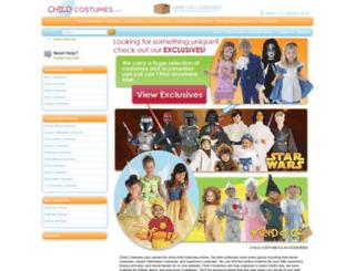 childcostumes.com screenshot